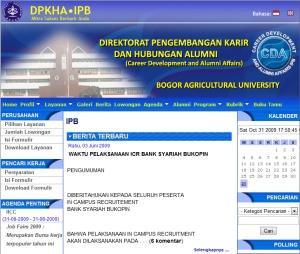 Direktorat Pengembangan Karir dan Hubungan Alumni IPB