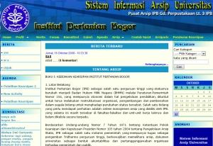 Bidang Pengelolaan dan Pengembangan Arsip IPB