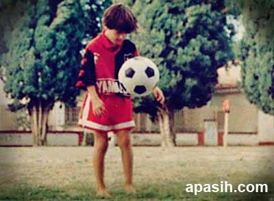 Messi saat di Newell's Old Boy